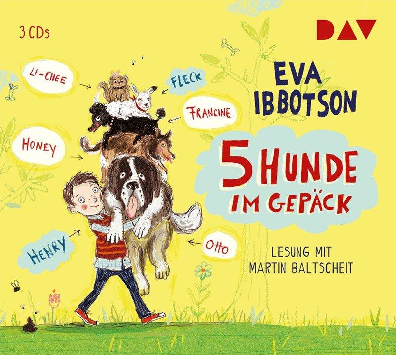 """5 Hunde im Gepäck [CD] """"Eva Ibbotson"""""""