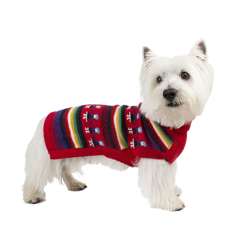Alqo Wasi Hunde-Pullover Andean People L