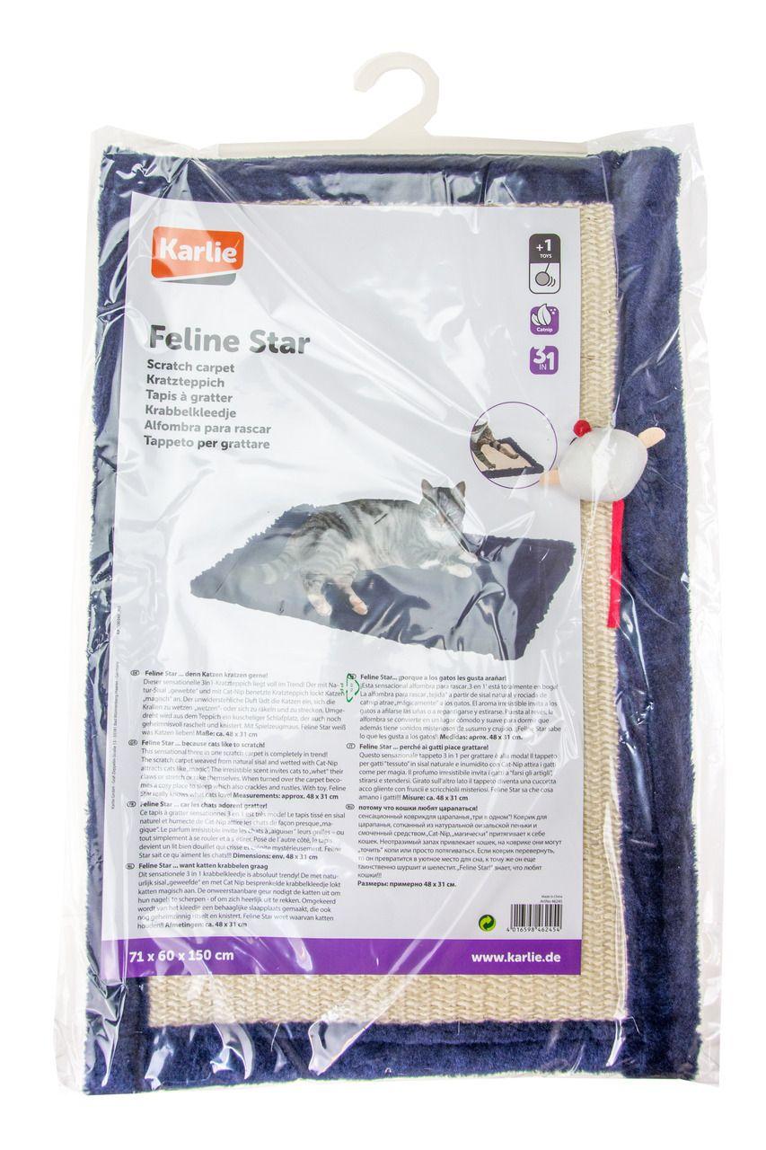 Karlie Feline Star Kratzdecke