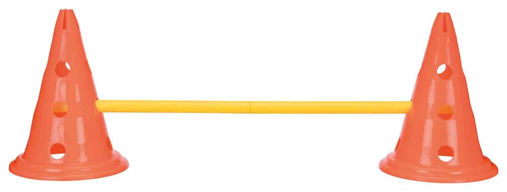 Trixie Pylonen-Hindernis-Set orange/gelb