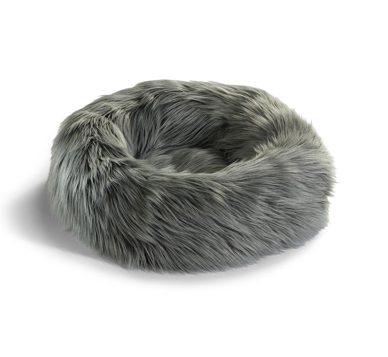 MiaCara Gatto Capello, Katzenbett, grau-schwarz/schwarz meliert