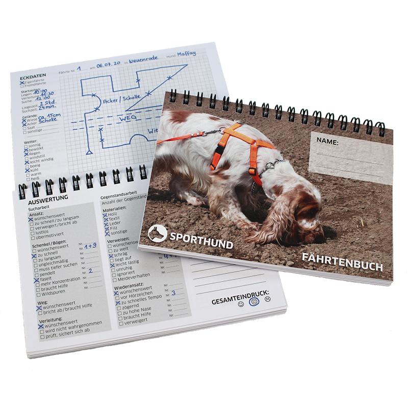 Sporthund Fährtenbuch pocket