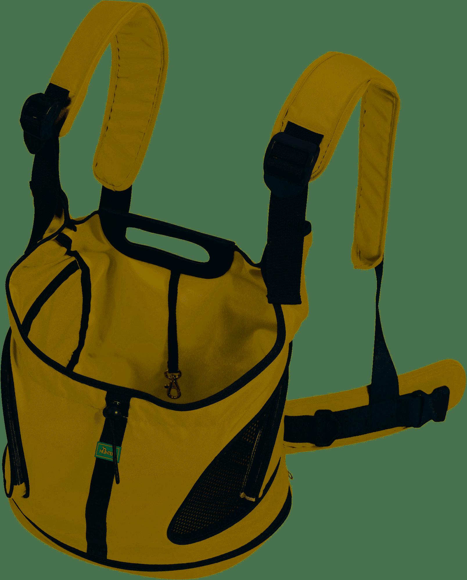 Hunter Tasche Outdoor - Kangaroo - beige/schwarz, 20 x 35 x 30cm
