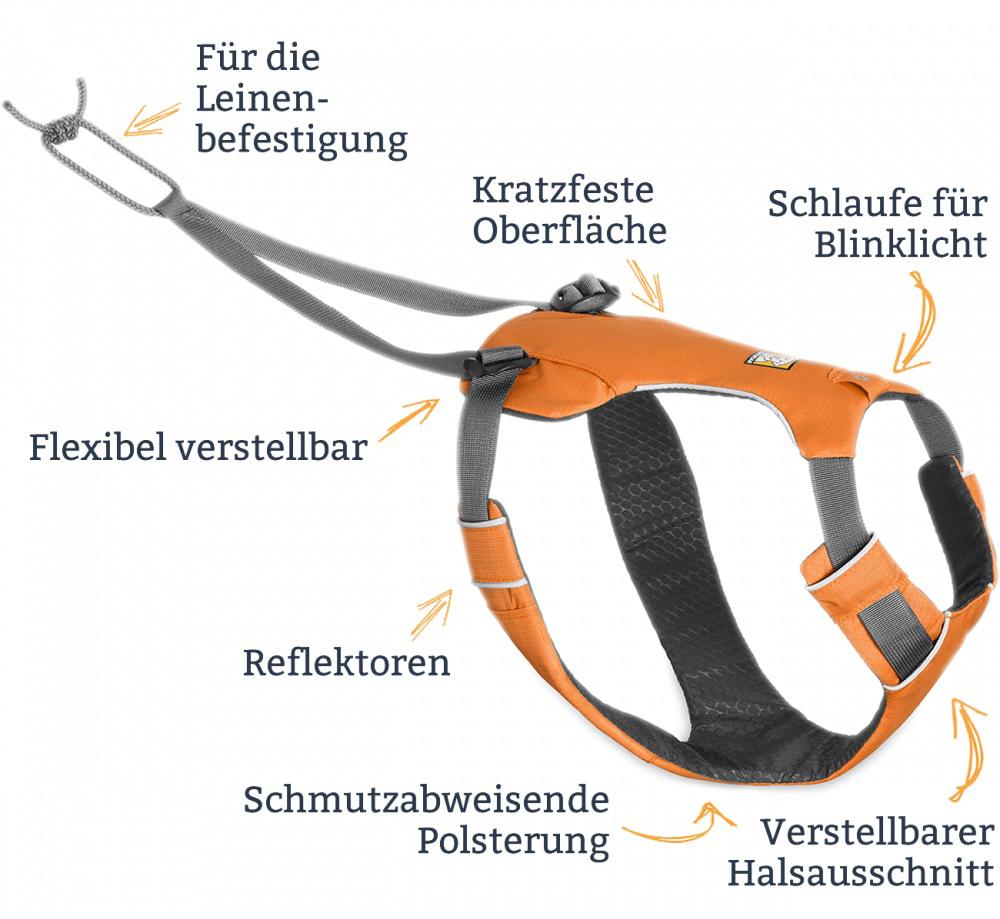 Ruffwear Omnijore Dog Harness (sold separately)
