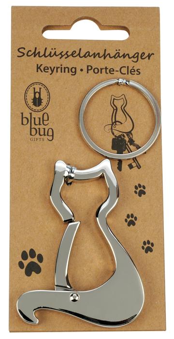Blue Bug Metallkarabiner Katze