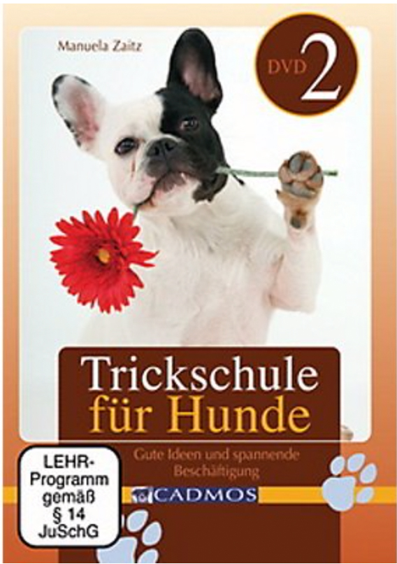 "Cadmos - DVD: Trickschule für Hunde II ""Zaitz"""