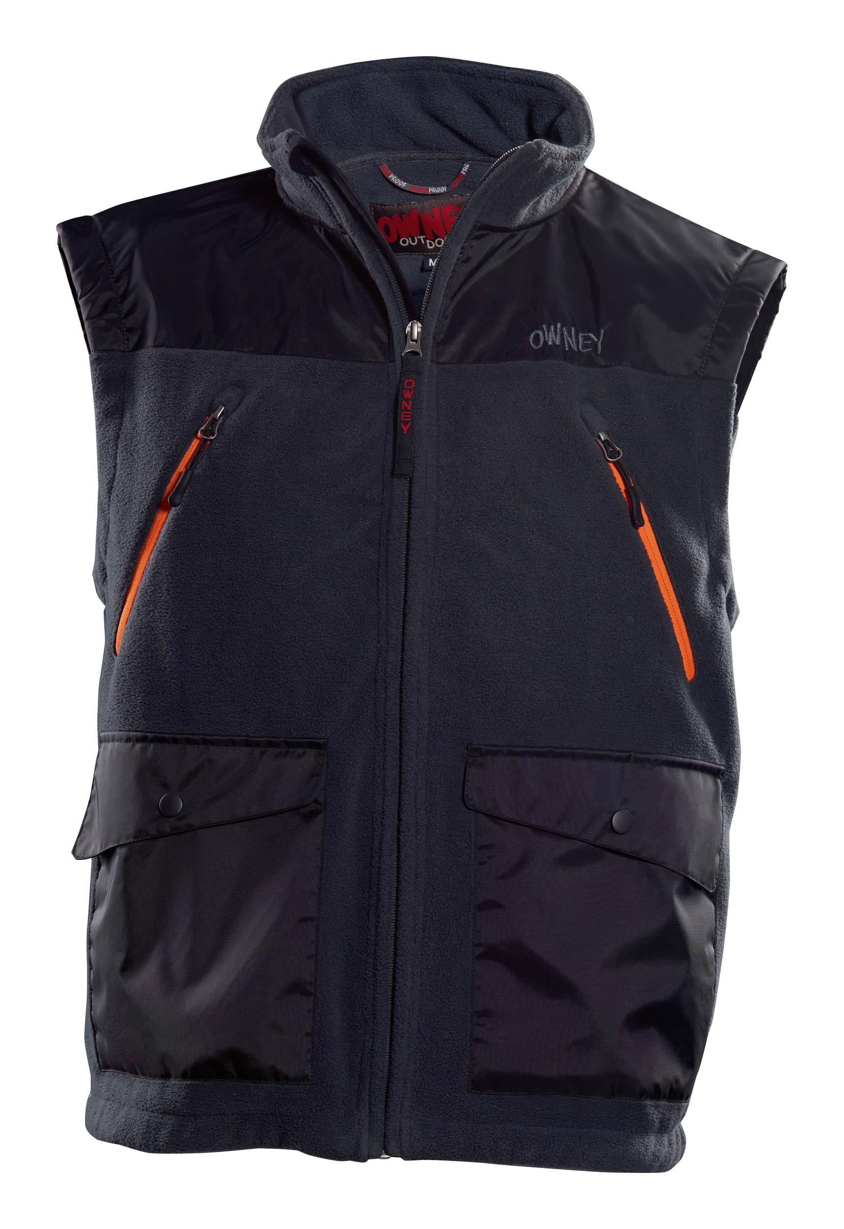Owney Companion Fleece Vest anthracite