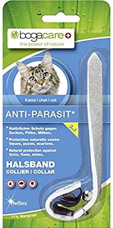 Bogacare Anti-Parasit Vlies Halsband Katze Reflex