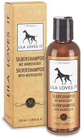 Lila Loves It Silbershampoo mit Mikrosilber 100ml