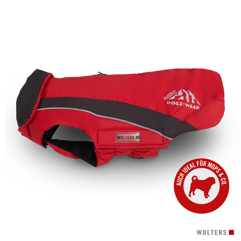 Wolters Skijacke Dogz Wear mit wasserdichtem RV für Mops & Co.