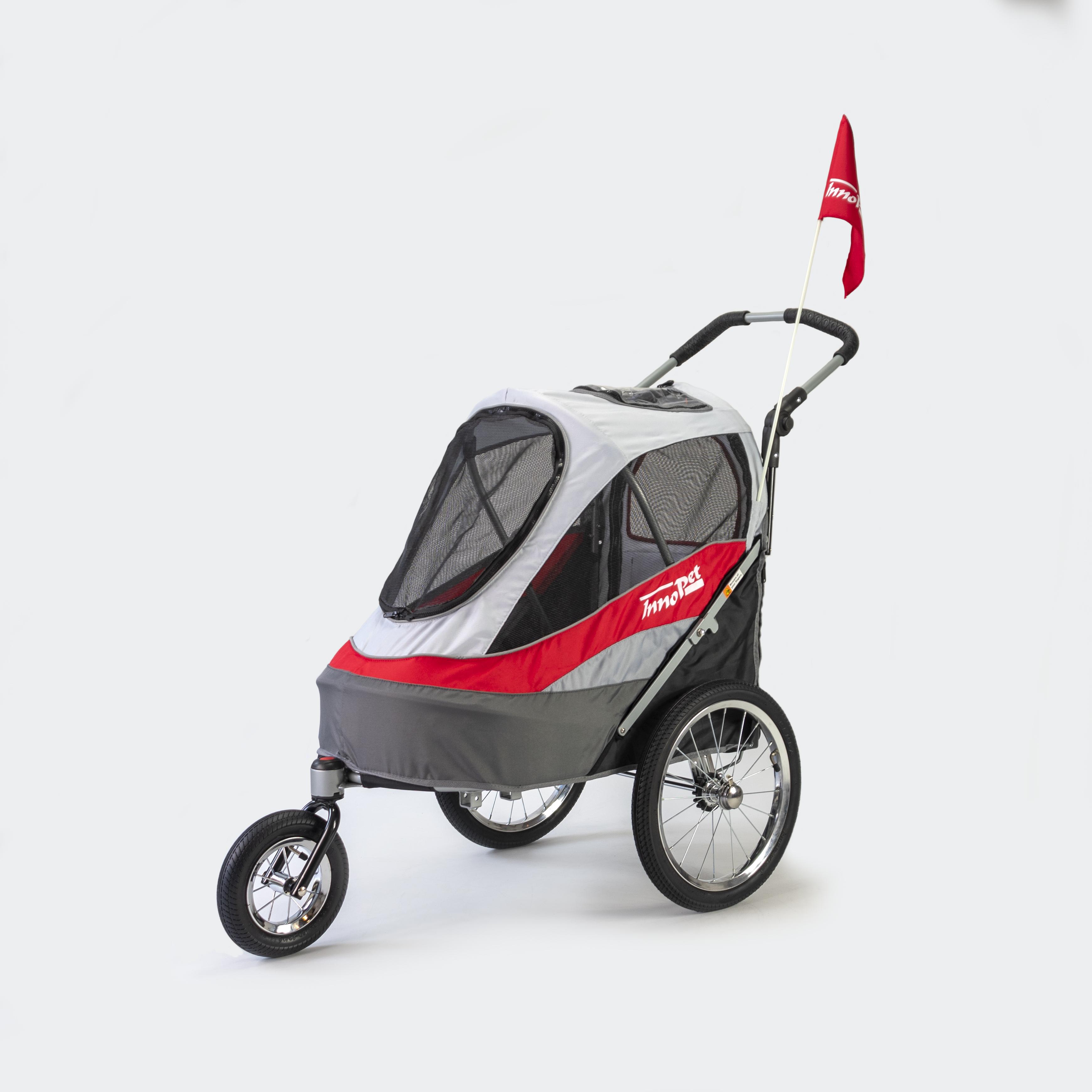 InnoPet Sporty Trailer rot/grau