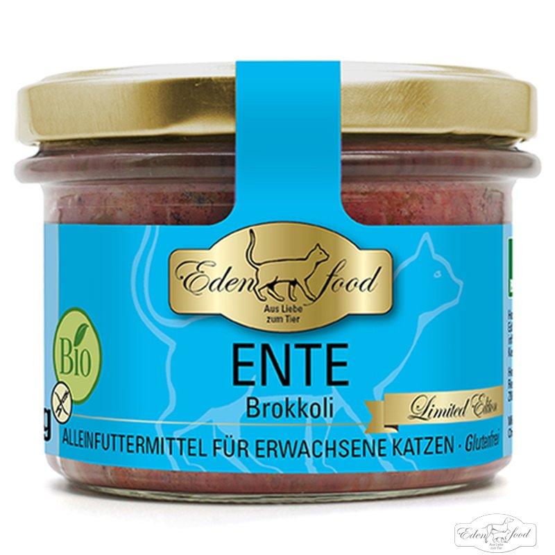 Edenfood Katzenmenü Bio-Ente - limited edition 200g