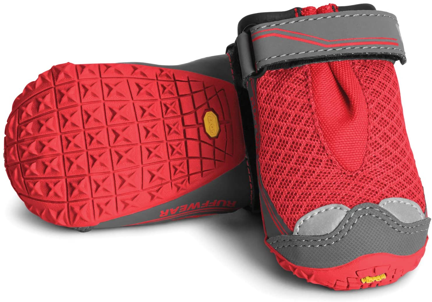 Ruffwear Grip Trex - set of 2 - Red Currant