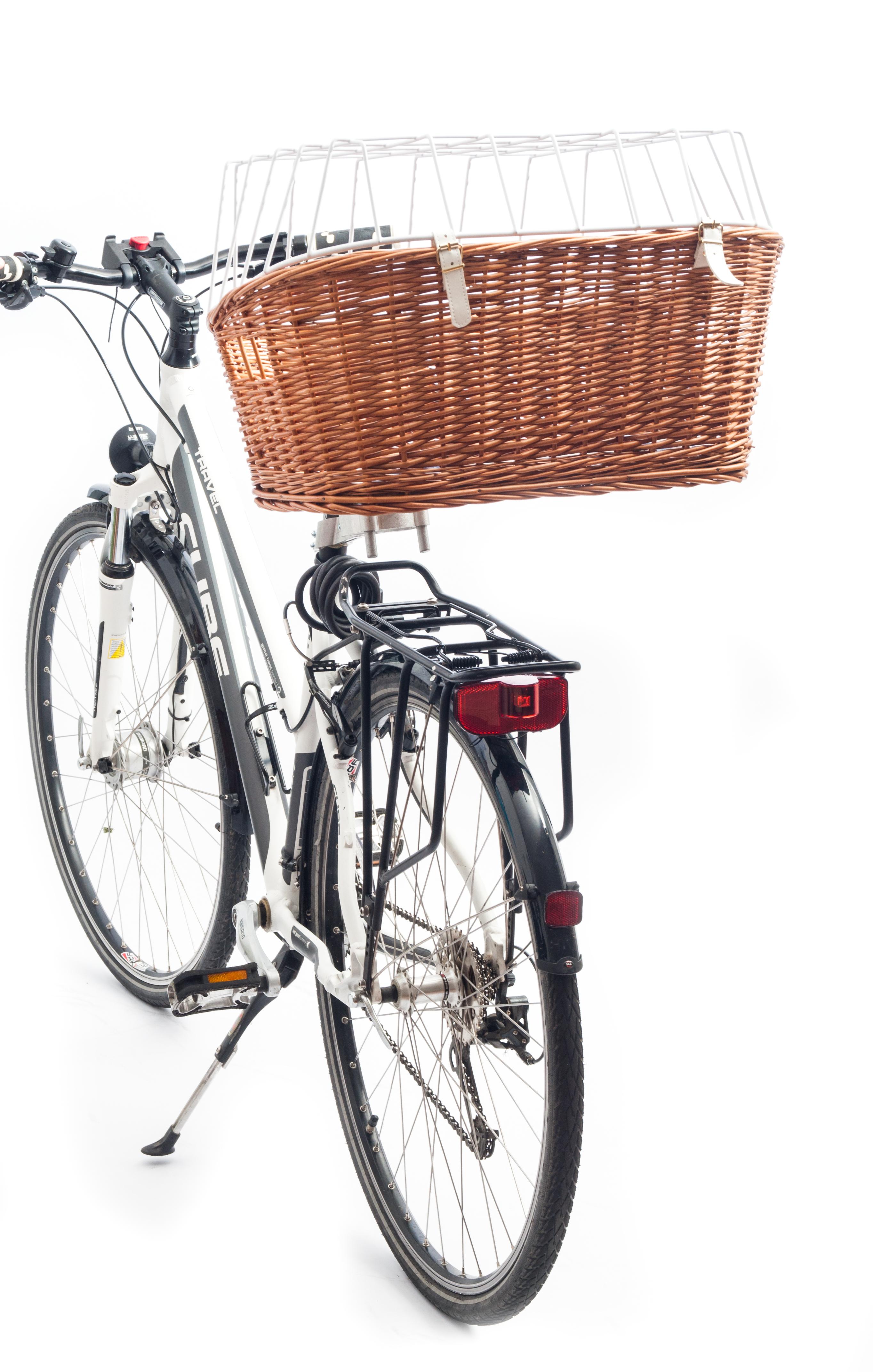 Aumüller Fahrradkorb komplett für Sattelrohrmontage
