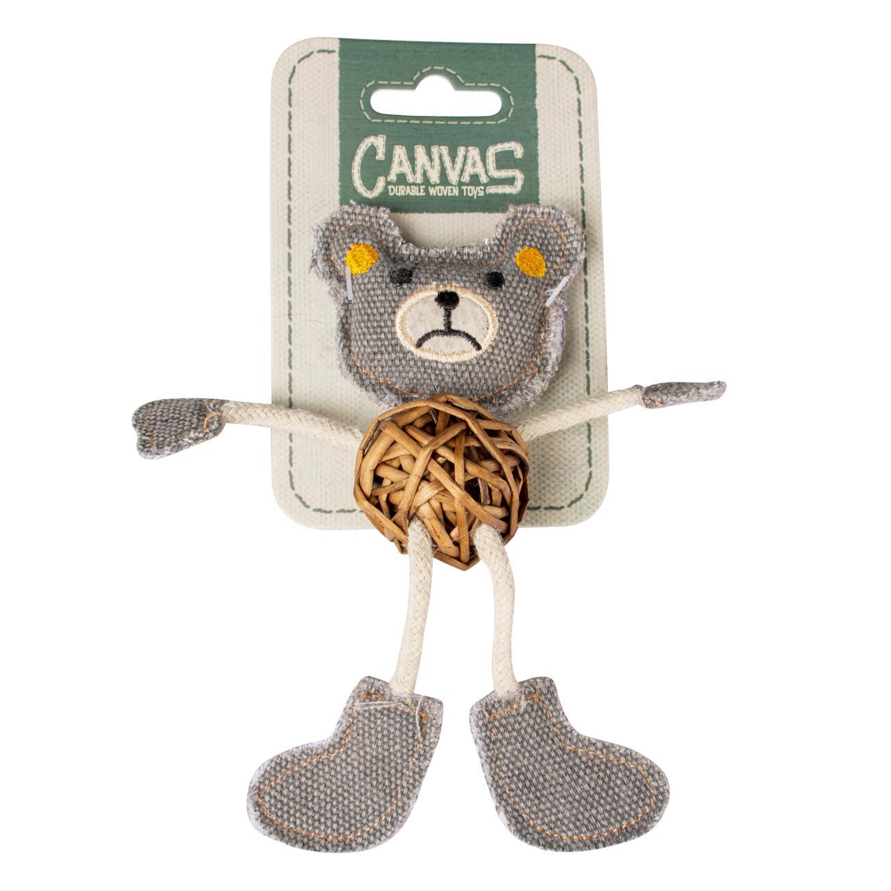 ebi Duvo+ Canvas Bear 17,8x12x2,5cm Brown/Grey