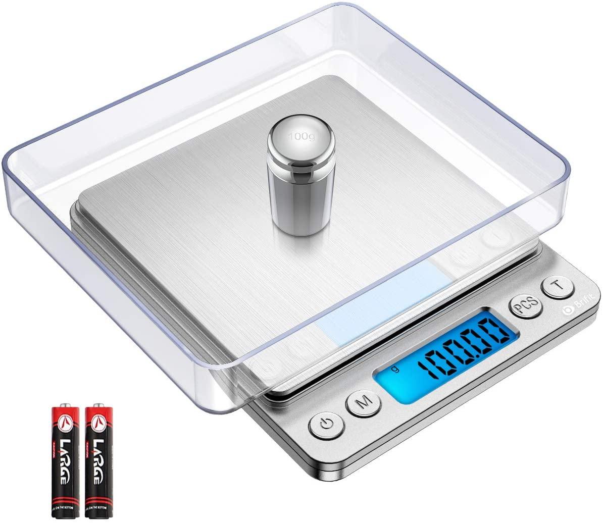 Digitale Feinwaage bis 500g - Genauigkeit 0,01g