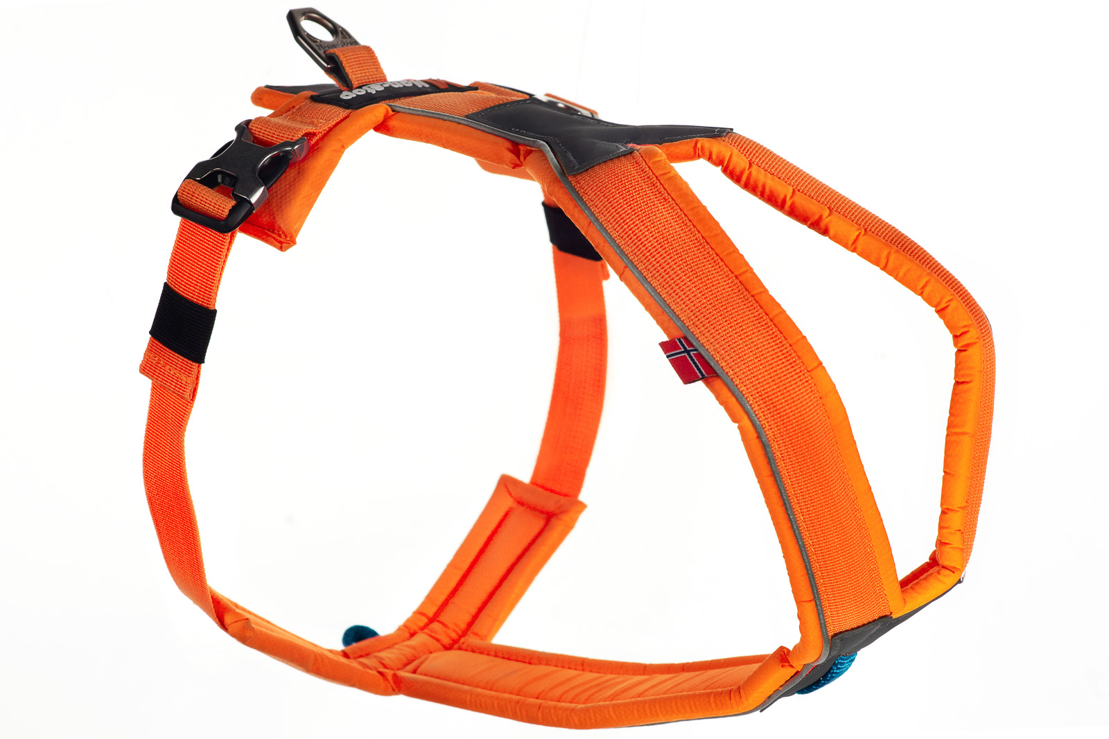 Non-stop dogwear Line Harness, orange