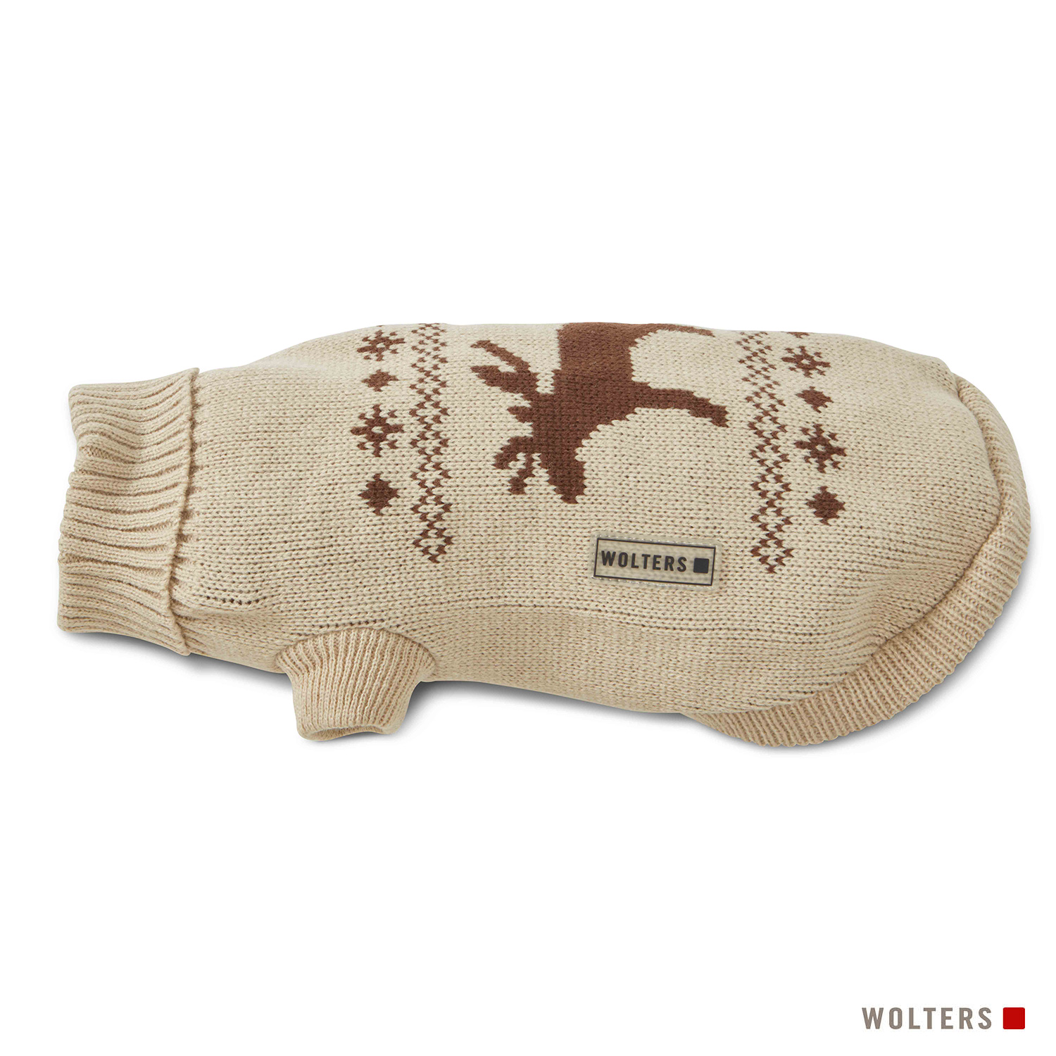 Wolters Strickpullover Elch