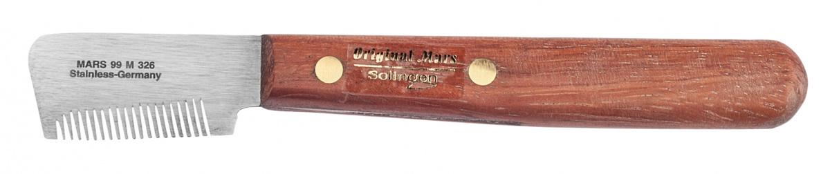 Mars Trimm-Messer für Unterwolle und Deckhaar - englischer Typ