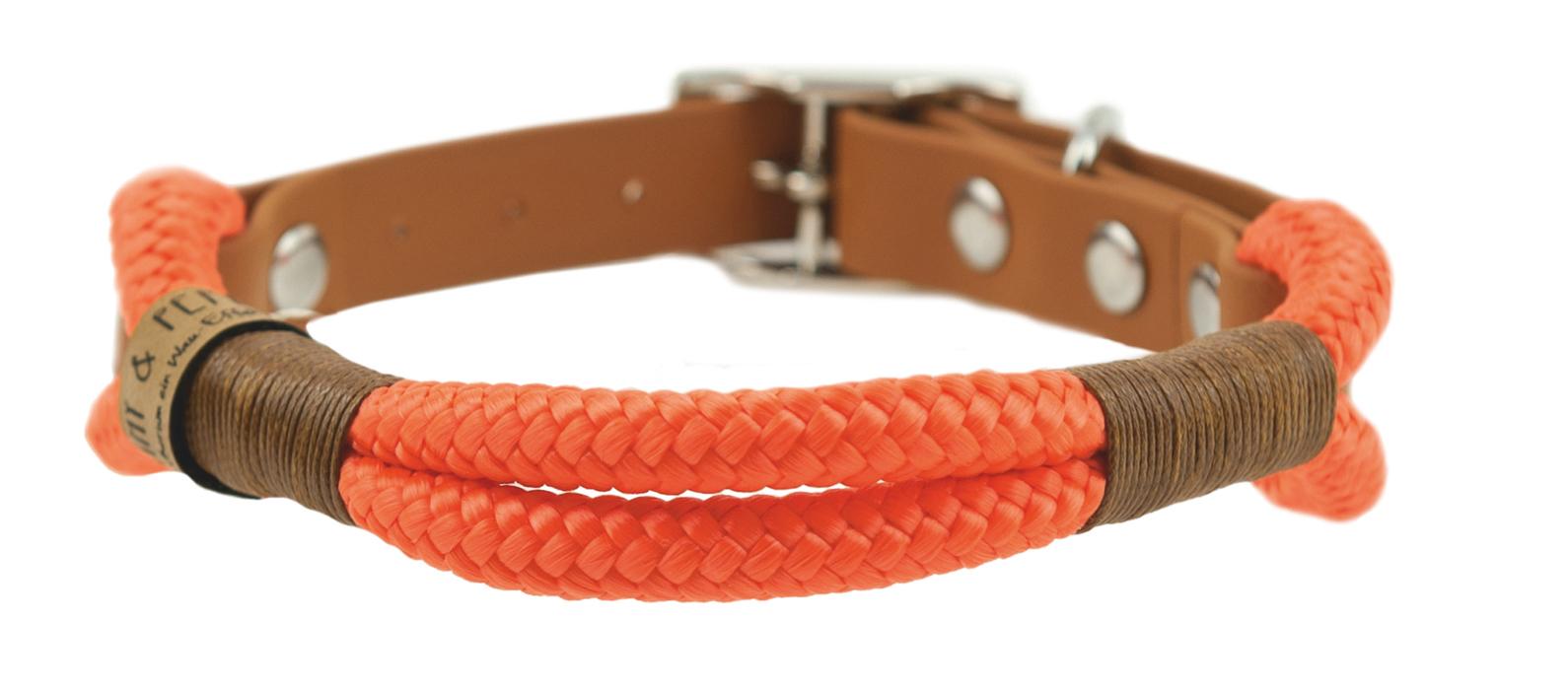 Emmy & Pepe Halsband ohne Perlen Orange