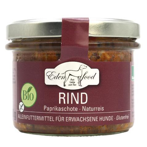Edenfood Bio-Hundemenü im Glas