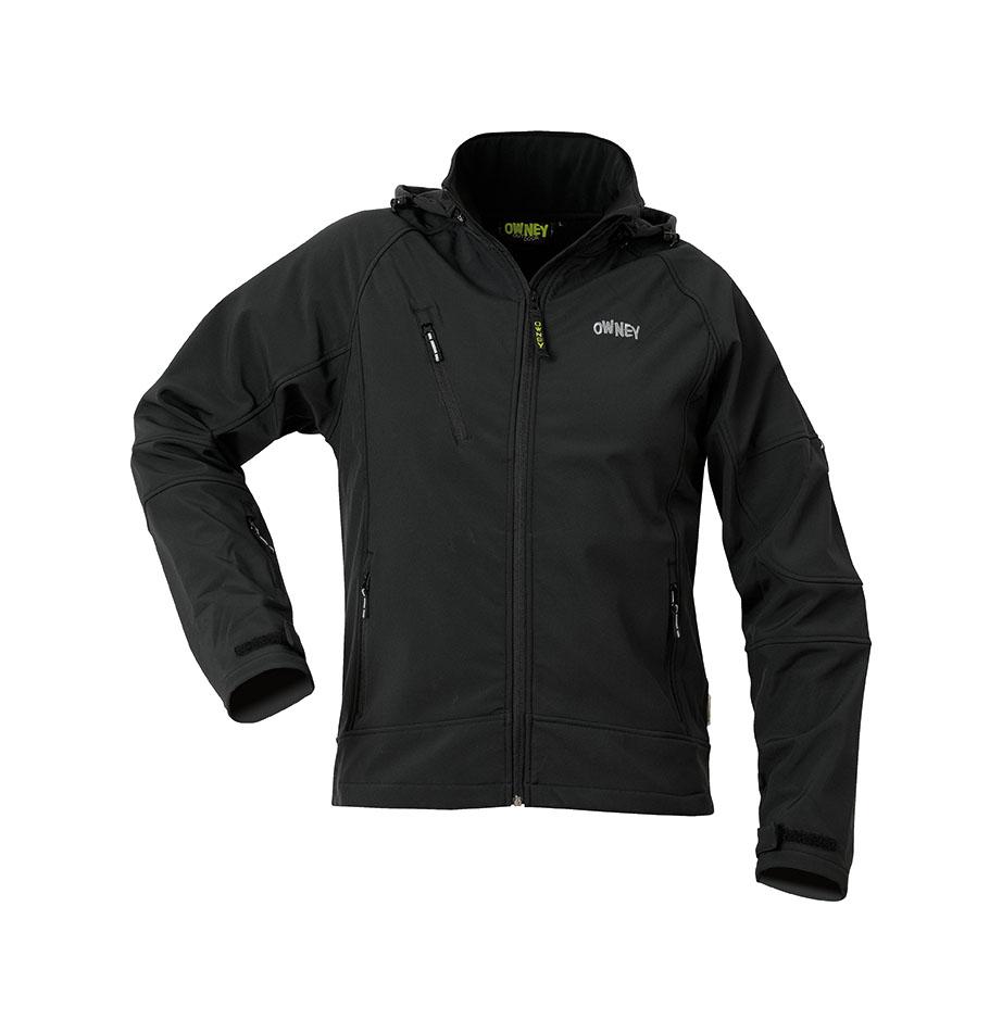 Owney Fjord Jacket Men black