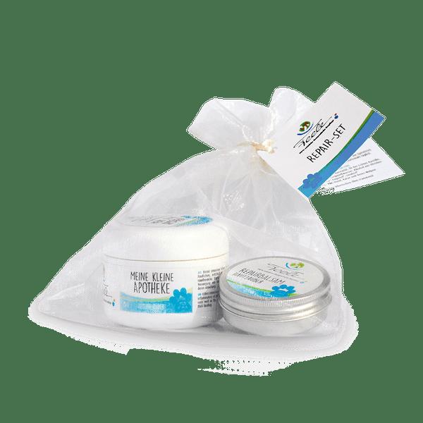 Feele Repair Set (bestehend aus den Produkten Hautzauber 25ml & Meine kleine Apotheke 25g verpackt im Organzasackl) 25ml/25g