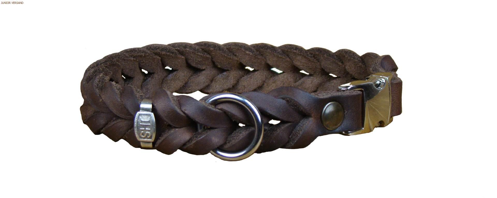 Junior Halsband geflochten mit Klickverschluß
