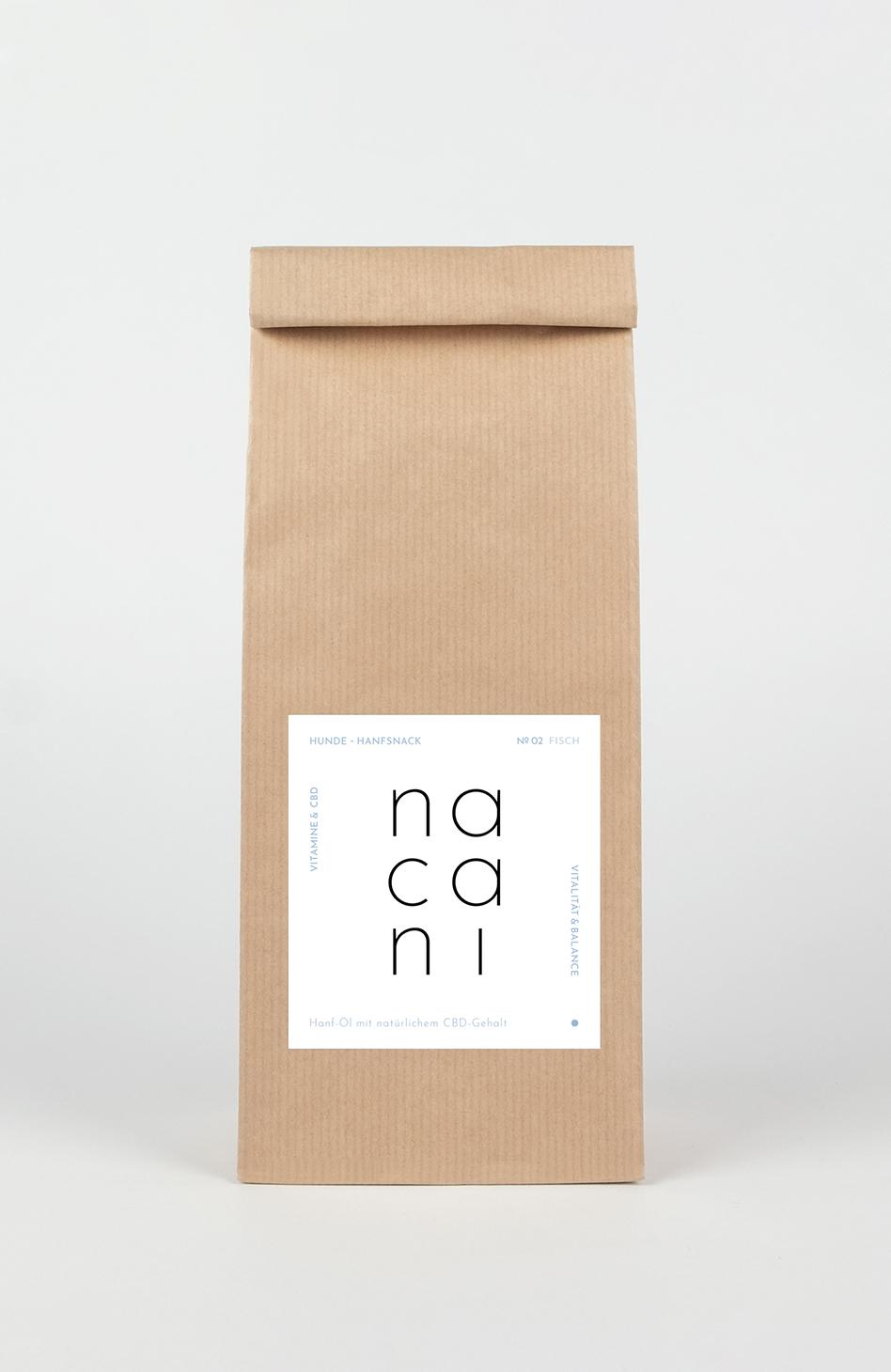 nacani Hanf-Leckerli mit natürlichem CBD-Anteil