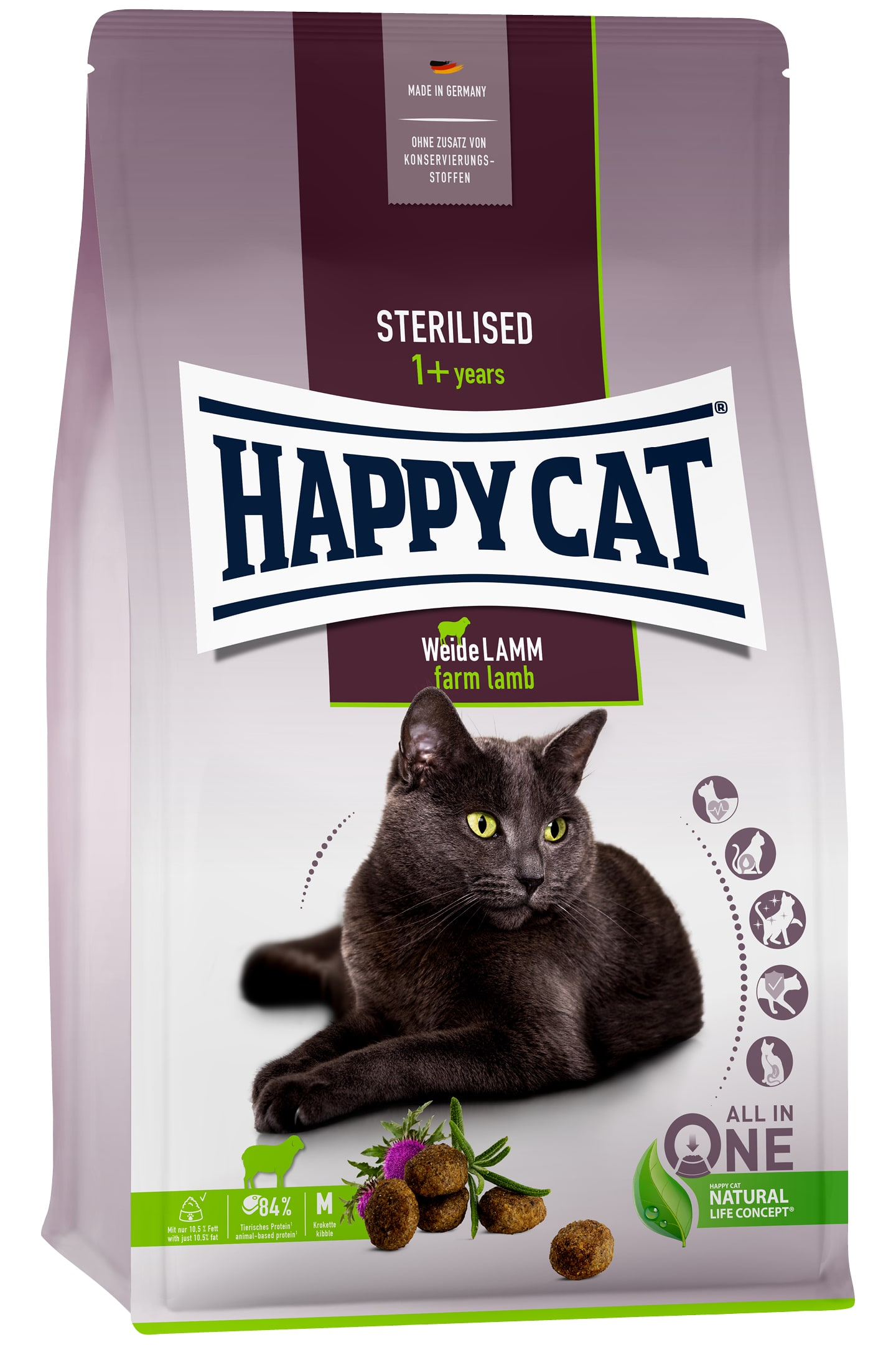 Happy Cat Supreme Adult Sterilised WeideLamm
