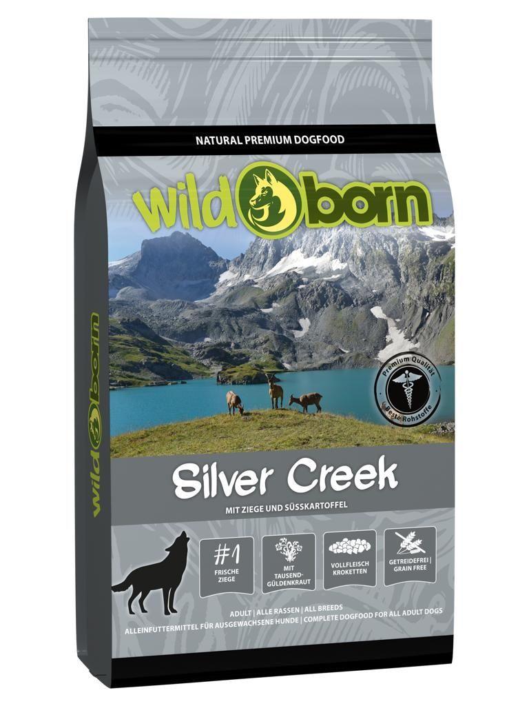 Wildborn Silver Creek mit Ziege