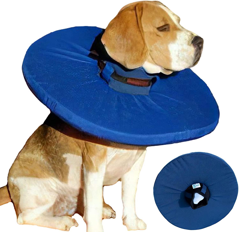Tepaw Halskragen für große Hunde Gr. 7 blau