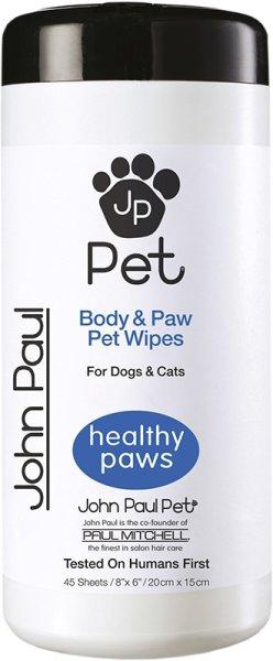 John Paul Pet® Full Body & Paw Bath Wipes