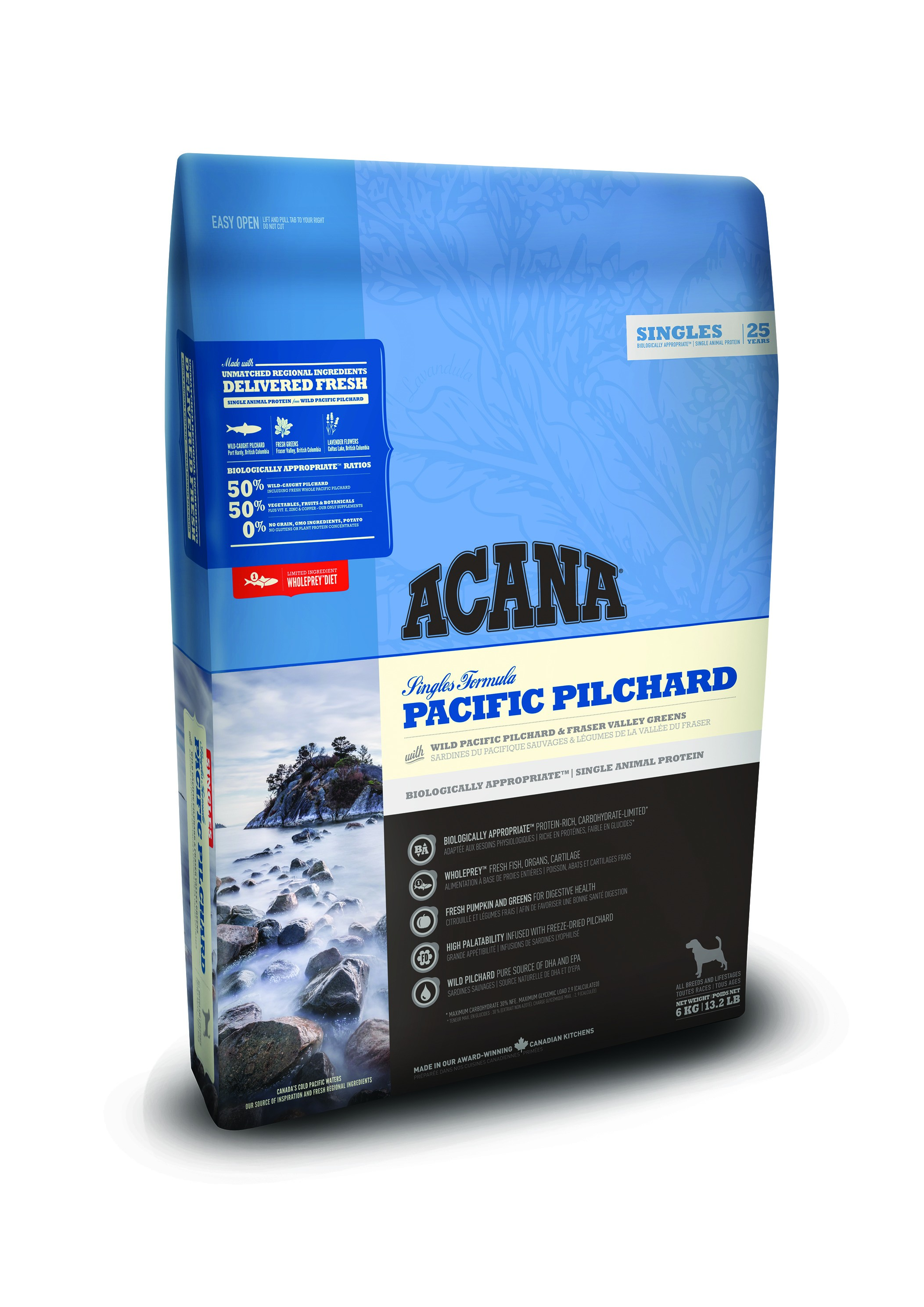 Acana Singles - Pacific Pilchard