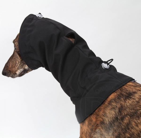 DG DogGear Soft Shell Schal - XL - Schwarz