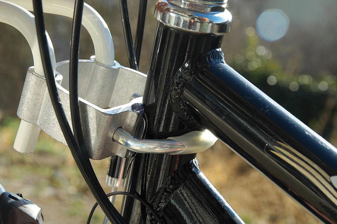 Aumüller Fahrradkorb komplett für Steuerkopfmontage 53x40x25/46cm