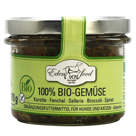 Edenfood Bio-Gemüse im Glas