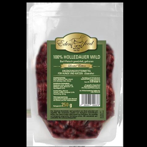 Edenfood 100% BARF Holledauer Wild - limited edition 250g