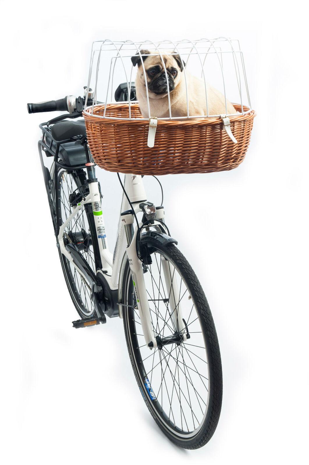 Aumüller E-Bike fähiger Fahrradkorb Standard mit Steuerkopfmontagesystem 167 52x38x18/40cm