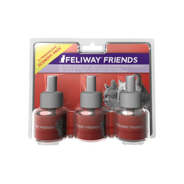 Ceva Cat Feliway Friends 3x30 Tage Vorteilspack