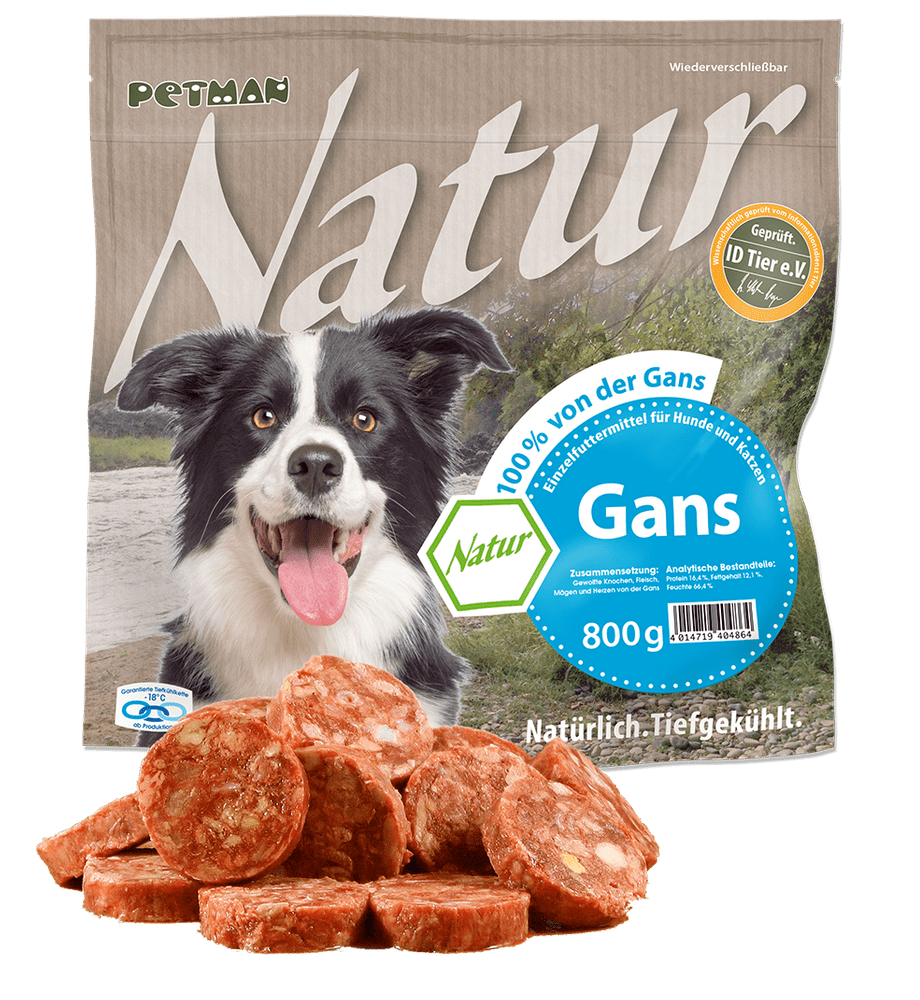 Petman Natur 100 % Gans 800g