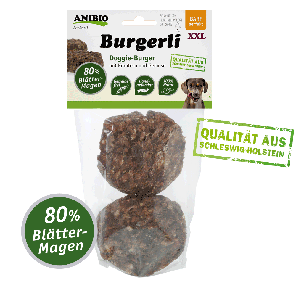 Anibio Burgerli (Frikadellen Blättermagen) 2 Stück