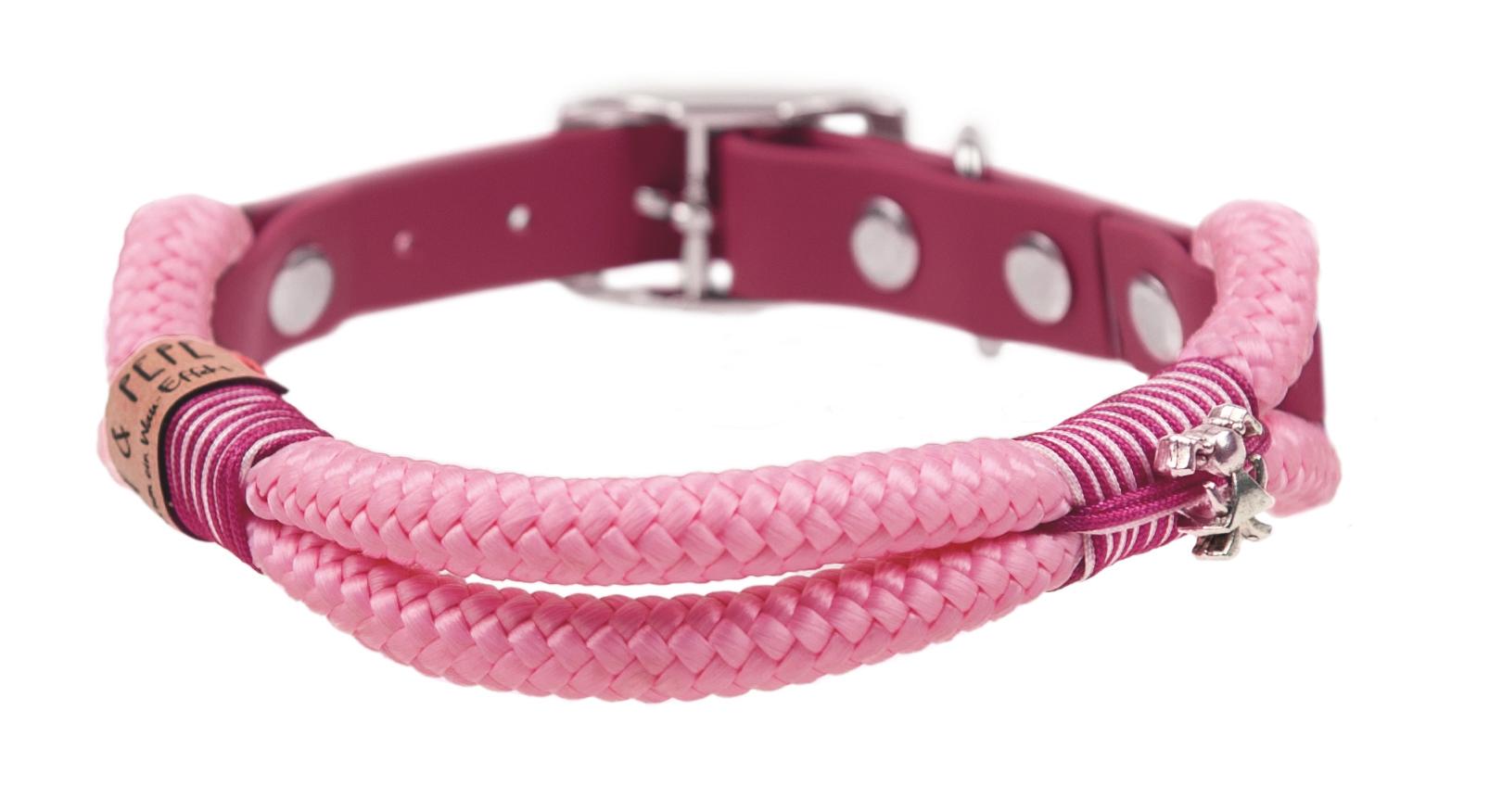 Emmy & Pepe Halsband ohne Perlen Pink Drop
