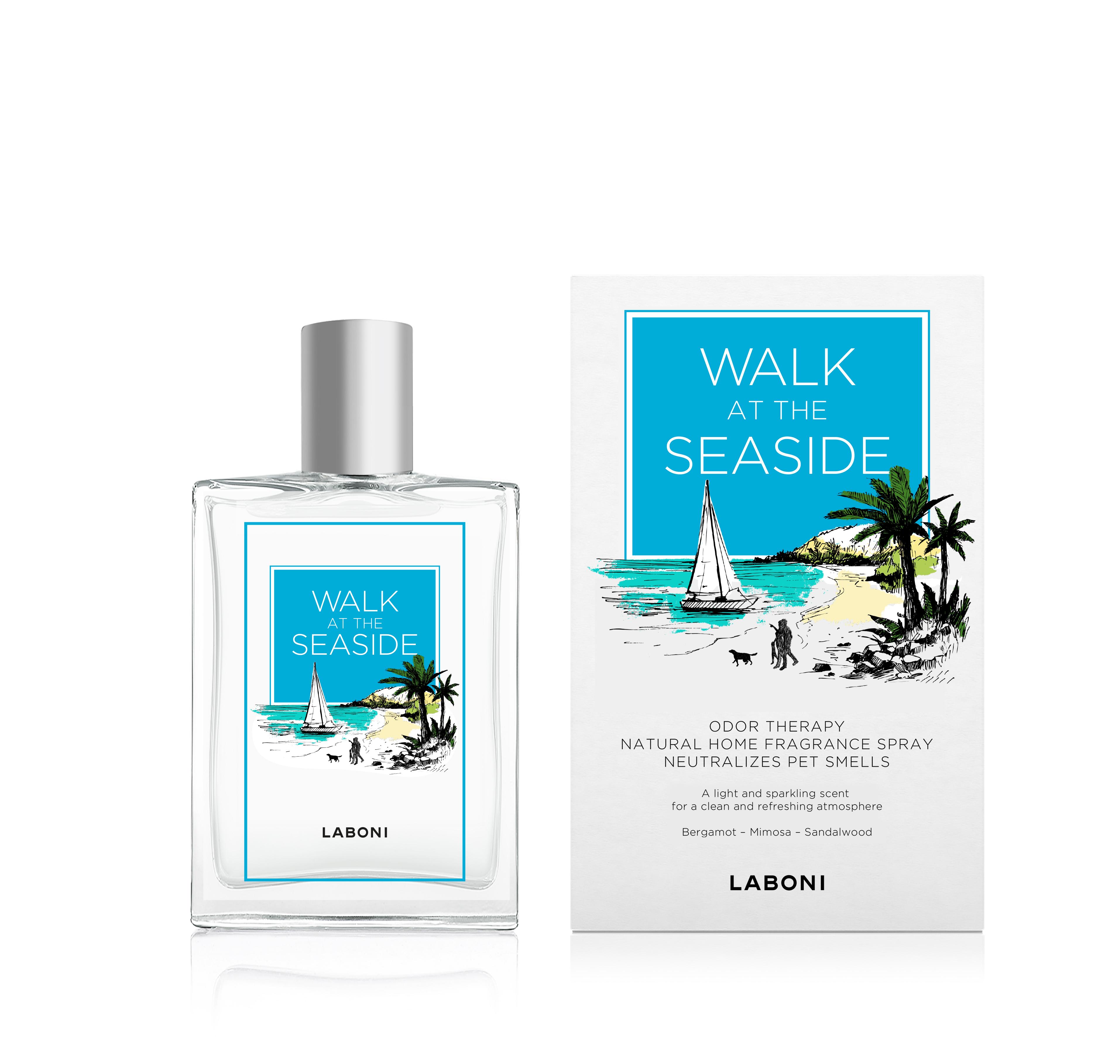 Laboni Duft-Spray Walk at the Seaside blau 100ml