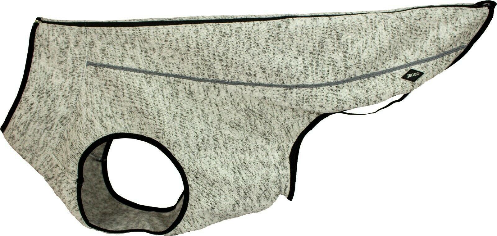 Jeggo Polarfleece Jacke hellgrau