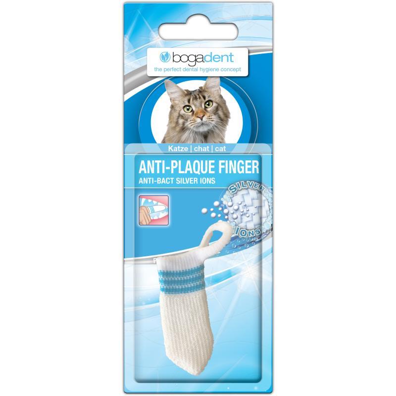 Bogadent Anti-Plaque Finger Katze 1Stk