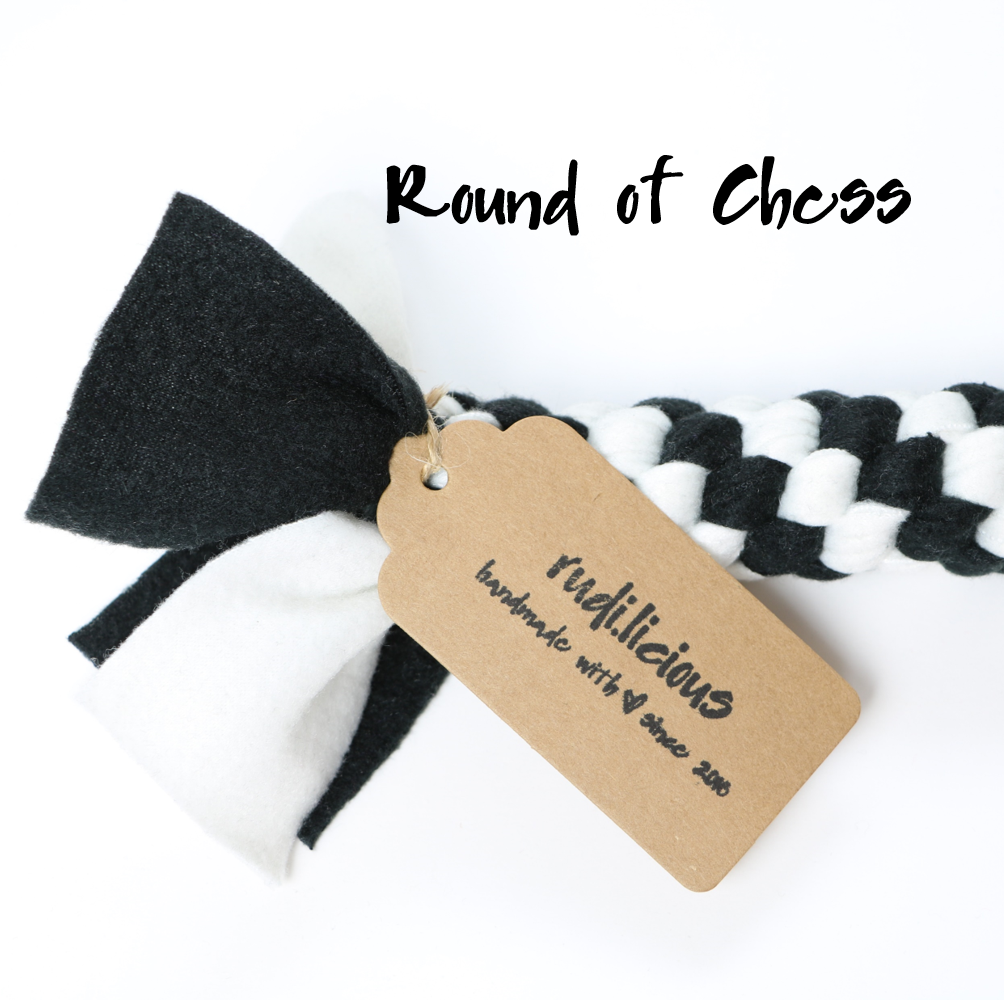 rudi.licious Öko-Tex Tauspielzeug Mini - Round of Chess