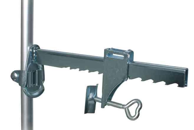Trixie Mauer-Klemme mit Teleskopstange