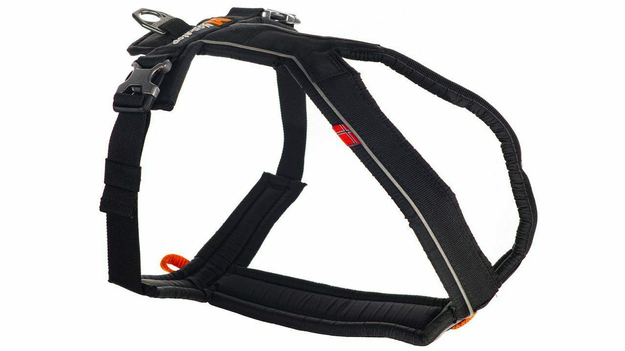 Non-stop dogwear Line Harness, black