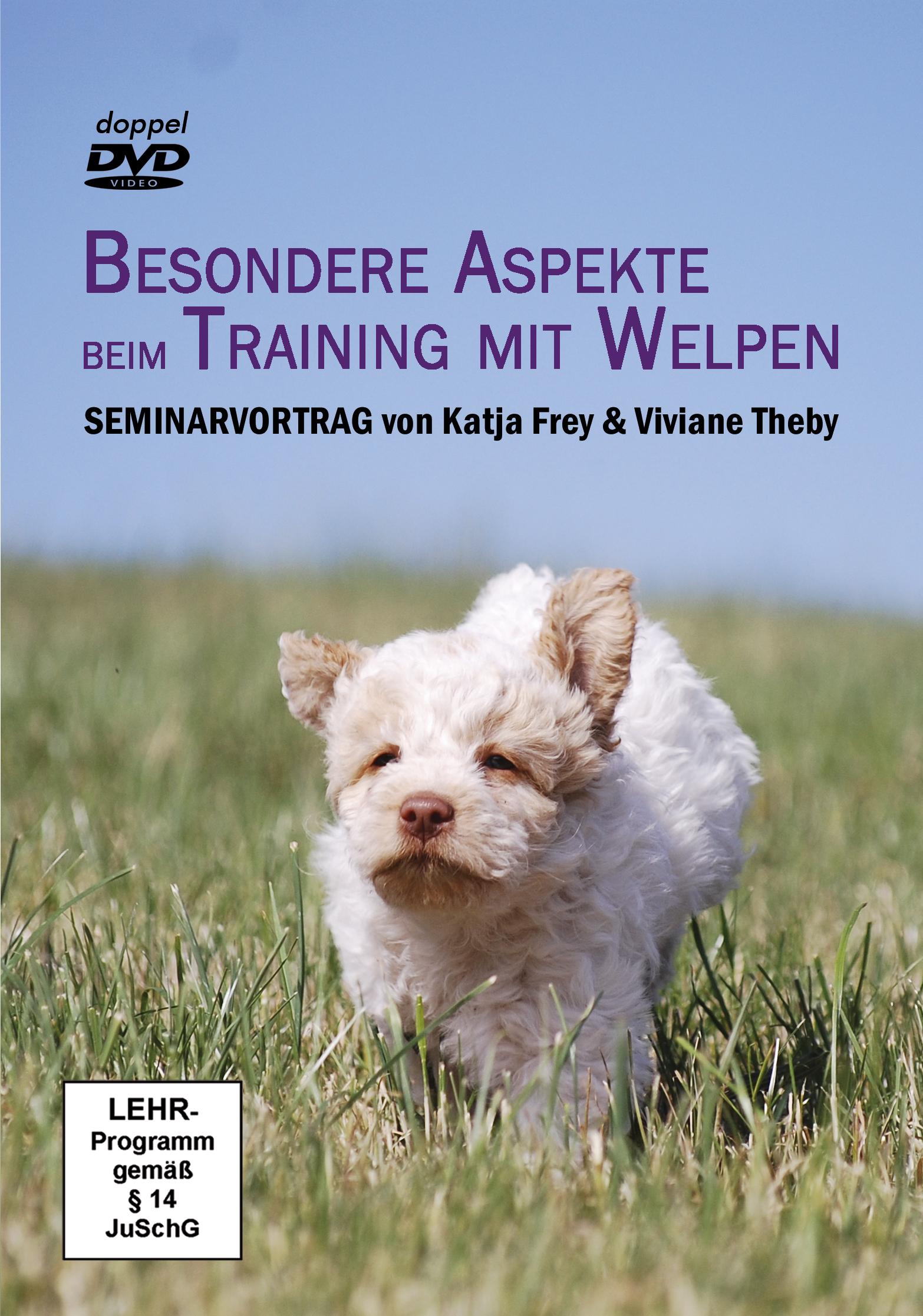 Besondere Aspekte b. Training m Welpen DVD